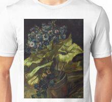 1886-Vincent van Gogh-Cineraria-45,5x54,5 Unisex T-Shirt