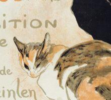 Theophile Alexandre Steinlen - A La Bodiniere Sticker