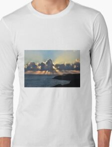 And the sunbeams touch the sea Long Sleeve T-Shirt