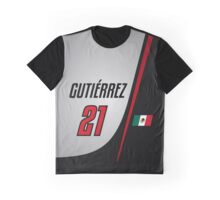 F1 2016 - #21 Gutierrez [launch version] Graphic T-Shirt