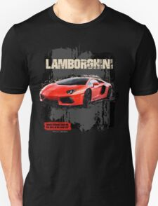 NEW Men's Lamborghini Sports Car T-Shirt Unisex T-Shirt