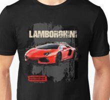 NEW Men's Lamborghini Sports Car T-Shirt Unisex T-Shirt