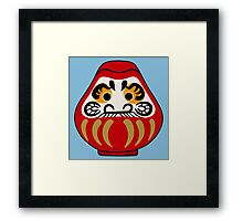 Cute Daruma doll Framed Print