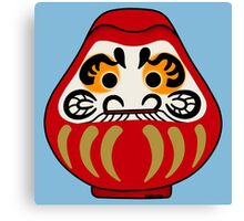 Cute Daruma doll Canvas Print