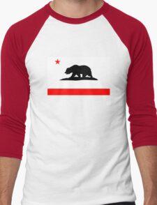 California Bear Men's Baseball ¾ T-Shirt