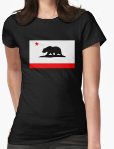 California Bear Womens Fitted T-Shirt