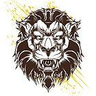 Lion by maximgertsen