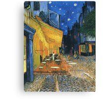Vincent Van Gogh -Cafe Terrace at Night .Van Gogh -Cafe Terrace at Night Canvas Print