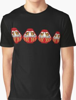 Daruma russian nesting doll style Graphic T-Shirt