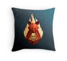 The Sly Counselor Throw Pillow