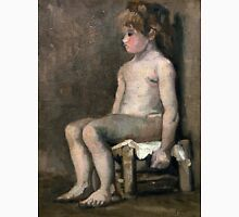 1886-Vincent van Gogh-Nude girl, seated Unisex T-Shirt