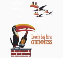 LOVELY DAY FOR A GUINNESS Kids Tee