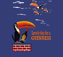 LOVELY DAY FOR A GUINNESS Mens V-Neck T-Shirt