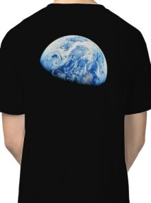EARTH, PLANET, SPACE, Blue planet, Earthrise, Apollo 8, 1968 Classic T-Shirt