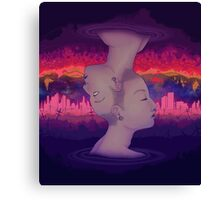 Dreams above reality Canvas Print