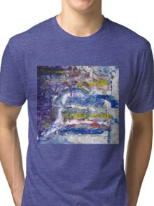 Grand Canyon -spiritual picture, Original Wall Modern Abstract Art Painting Tri-blend T-Shirt