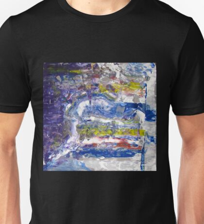 Grand Canyon -spiritual picture, Original Wall Modern Abstract Art Painting Unisex T-Shirt