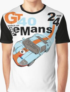 NEW Classic Ford GT40 T-shirt Graphic T-Shirt