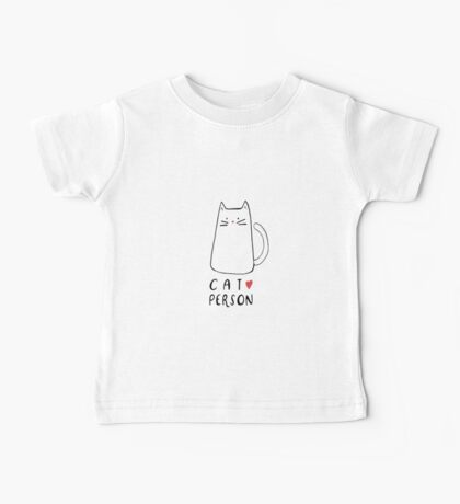 Cat Person Baby Tee