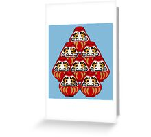 Mount Daruma Greeting Card