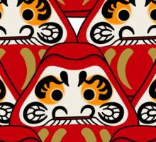 Mount Daruma Sticker