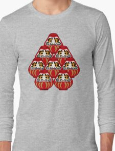 Mount Daruma Long Sleeve T-Shirt