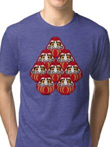 Mount Daruma Tri-blend T-Shirt