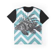Lionfish Chevron Graphic T-Shirt