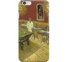 Vincent Van Gogh - Le Cafe De Nuit The Night Cafe  iPhone Case/Skin