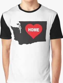 Washington State is Home Graphic T-Shirt