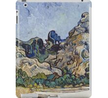 Vincent Van Gogh - French  Landscape. Saint-Remy  iPad Case/Skin
