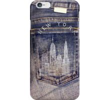 NYC @ jeans iPhone Case/Skin