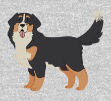 Bernese Mountain Dog Kids Tee