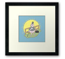 This little piggy went to sell on the markets... Framed Print