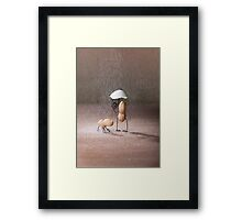Simple Things - Bad Weather Framed Print