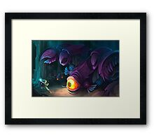 Queen Gohma  Framed Print