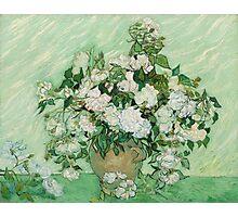 Vincent Van Gogh - Roses - Van Gogh - Roses  Photographic Print