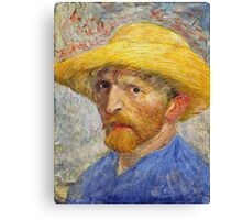 Vincent Van Gogh - Self Portrait  Canvas Print