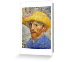 Vincent Van Gogh - Self Portrait  Greeting Card
