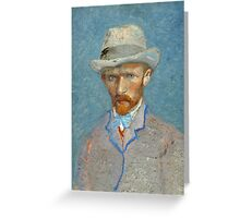 Vincent Van Gogh - Self Portrait - Van Gogh - Self Portrait  Greeting Card