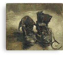 Vincent Van Gogh - Shoes - Van Gogh - Shoes  Canvas Print