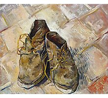 Vincent Van Gogh - Shoes - Van Gogh - Shoes  Photographic Print