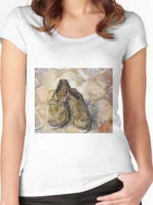 Vincent Van Gogh - Shoes - Van Gogh - Shoes  Women's Fitted Scoop T-Shirt