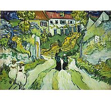 Vincent Van Gogh - Stairway At Auvers  Photographic Print