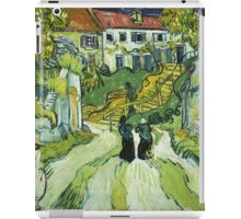 Vincent Van Gogh - Stairway At Auvers  iPad Case/Skin