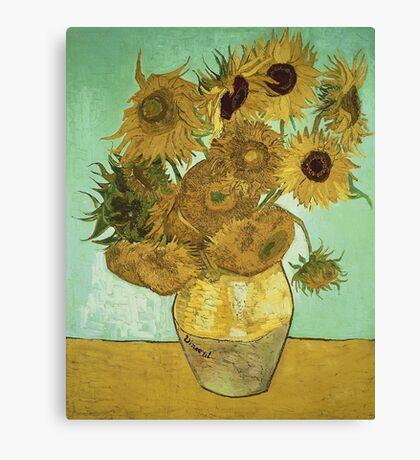 Vincent Van Gogh - Sunflowers  Canvas Print