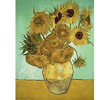 Vincent Van Gogh - Sunflowers  Photographic Print