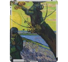 Vincent Van Gogh - The Sower . Sun iPad Case/Skin