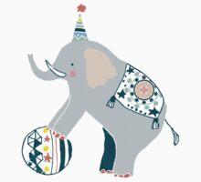 Cirque elephant Kids Clothes