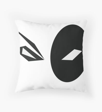 Domino (X-Force) Throw Pillow